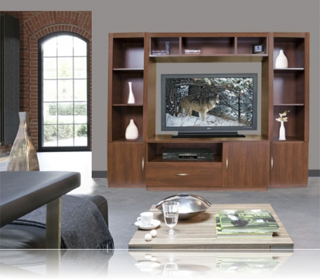 New London Entertainment Center for Table Top TV