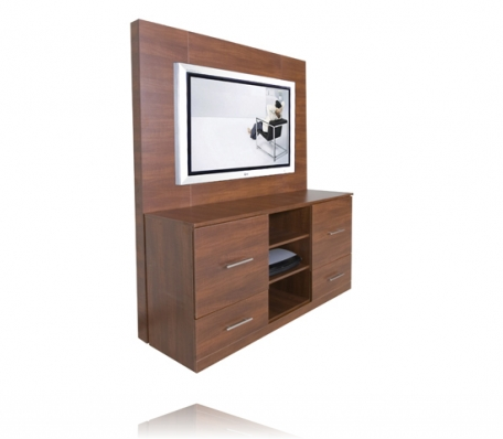 Infinity TV Stand and Back